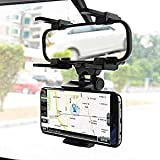 IMPORTANT NOTE : This Car Rearview Mirror Mount Holder has been specifically designed & made High Premium Quality Exactly as seen in the picture PRODUCT DESIGN : Simple, easy installation, beautiful appearance, durable, 270 degree swivel / turn base....