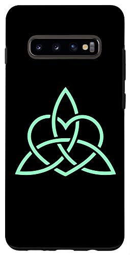 Galaxy S10+ WICCA & WITCHCRAFT & THE OCCULT - WICCAN CELTIC KNOT Case