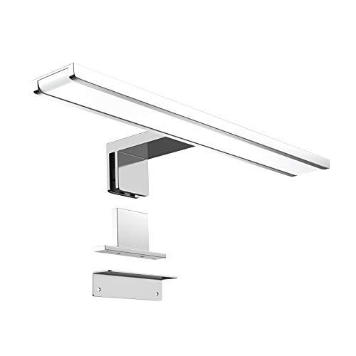 Monzana Spiegelleuchte 40cm LED Spiegellampe 6500K Schrankleuchte 6W Badleuchte 120° Beleuchtung Aufbaulampe Leuchte Lampe
