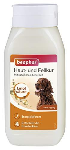 beaphar Haut- und Fellkur für Hunde mit wertvollen Linolsäuren und Omega 3 & 6, 430...