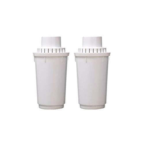 Cartucho depurador de recambio B100-6, de Aquaphor. Para filtro de jarra depuradora de agua. 2 unidades