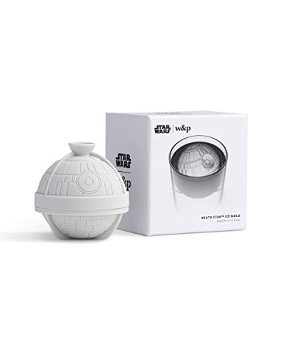 W&P Limited Star Wars Collection Sphere Silicone Ice Mold, Death Star,...