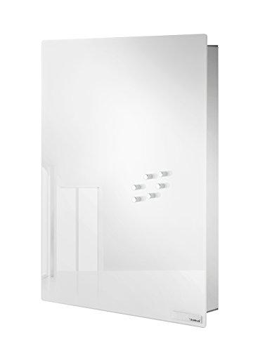 Blomus - VELIO - Armoire à clés / tableau magnétique en verre blanc - 65366