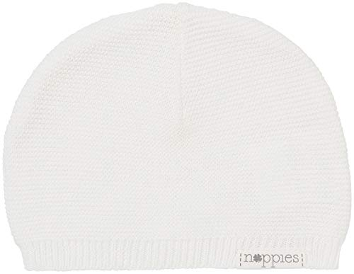Noppies U Hat Knit Rosita Sombrero, Blanco (White C001), Talla única (Talla del Fabricante: 0M-3M) para Bebés