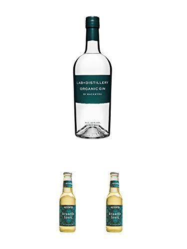 Mackmyra LAB Organic GIN 0,7 Liter + Kreatör Tonic Wasser 0,2 ltr. Flasche + Kreatör Tonic Wasser 0,2 ltr. Flasche