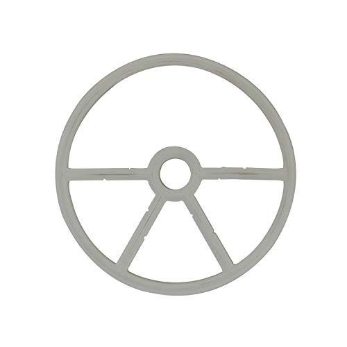 OemClima Junta Estrella válvula selectora Juntas Filtro Arena Piscina 4 5 Ramas para válvula selectora 1.5 2 Pulgada (1.5 - OD12.8cm - Blanco 4 Ramas)