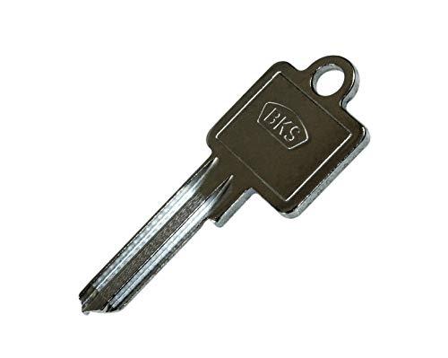 BKS Schlüssel Rohling Original (10 Stück) für Profilzylinder Serie PZ 88 & 89 und 31