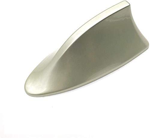 YZGS Antena de Aleta de tiburón para Coche, para Peugeot 107207307 307S 308407607 Antena de Aleta de tiburón para Coche Señal de Radio FM/Am Antenas Accesorios-Oro