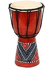 Tambor Africano Pequeño Pandereta Actividad Campo Cálido Piel de Oveja Pandereta Niños Kindergarten Adulto Instrumento Musical Africandrum4inches
