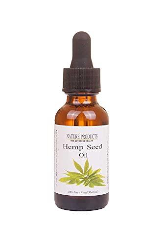 Hanföl (Cannabis Sativa) - Kaltgepresst - 100{87566a68478baa091e8a426f55913bf6c533e980b240b2272a8a8a833ac43414} Reines & Natürlich - Glasflasche - Hanf Öl - Intensive Pflege für Gesicht - Haare - Körperpflege - direkt vom Hersteller (30)