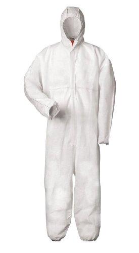 Tector Multi-usage-vêtement de Protection pour le travail avec des produits chimiques, nucléaires, Crépuscule Particules Protection Anti-statique général de catégorie III Type 5 et 6