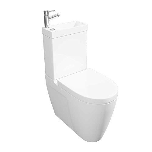 Arley P2 Deluxe 237P2DELUXE WC und Waschbecken, mit Wasserhahn