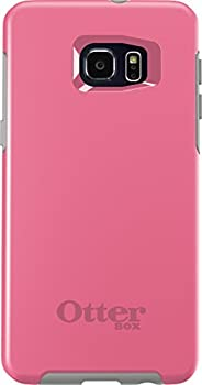 OtterBox SYMMETRY SERIES Case for Samsung Galaxy S6 EDGE+ PLUS - Retail Packaging - PINK PEBBLE  HIBISCUS PINK/SLEET GREY