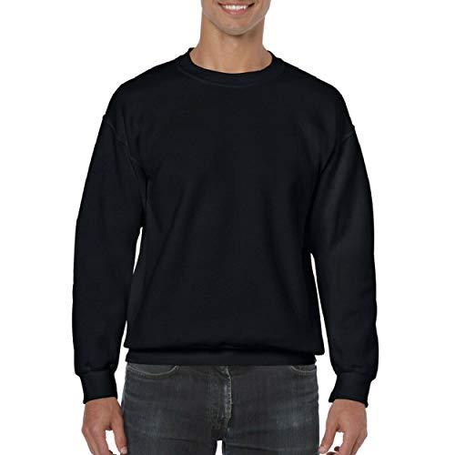 Gildan Herren Sweatshirt, Schwarz, S