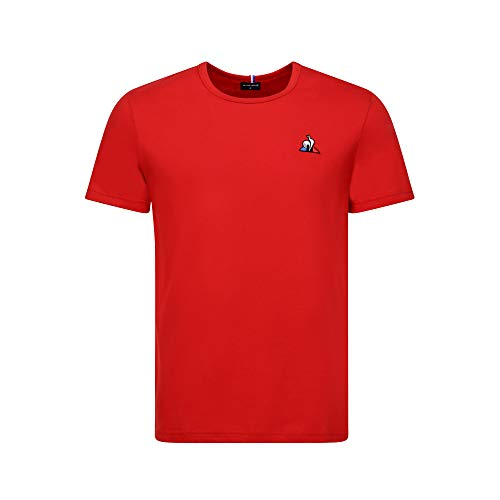 Le coq Sportif Ess Tee SS NA2 M PUR Rouge L