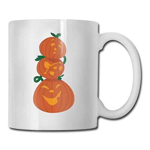 Funny Coffee Mug Boo Pumpkin Coffee Tea Cup Unique Festival Birthday Present for Men Women 11 Ounce