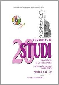 20 studies. Metodo per chitarra. Con CD-Audio. N. 10-20 (Vol. 2)