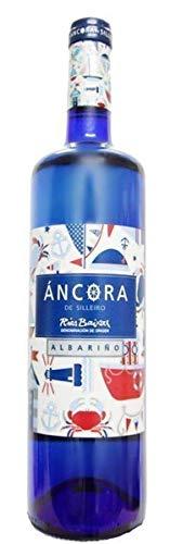 Vino Albariño Ancora de Silleiro - DO Rias Baixas Albariño 100% - 1 Botella de 75cl