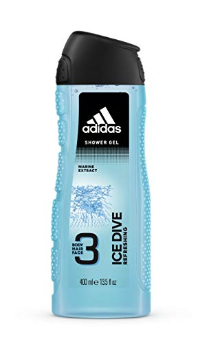 Adidas Ice Dive Shower Gel, 13.3 Ounce