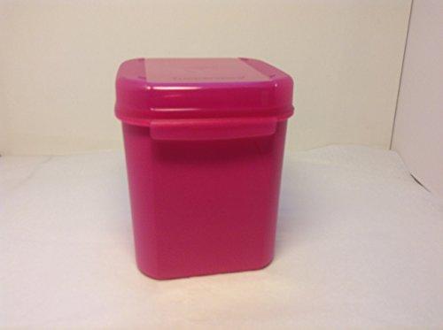 TUPPERWARE Junior Bellevue Naschkätzchen 1,2 l rosa pink Dose Behälter