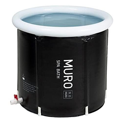 MURO Portable Bathtub for Adults, Foldable Freestanding Spa Bathtub for Soaking in Shower Stall, 3...
