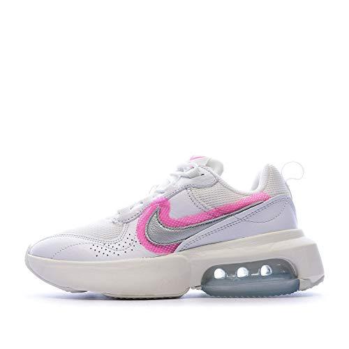 Nike Air Max Verona Scarpe Sneakers Donna in Pelle Bianca e Fucsia CZ8103-100