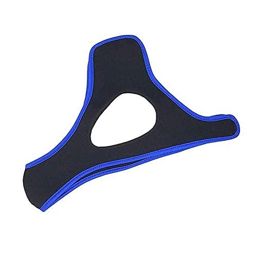 Meiruyu Correa para la Barbilla Anti ronquidos. Solución Ajustable Triangular para Dejar de roncar Dispositivos Anti ronquidos. Dejar de roncar Ayuda para Dormir para Hombres y Mujeres