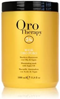 Fanola Oro Puro Illuminating Keratin Argan Mask, 300 ml