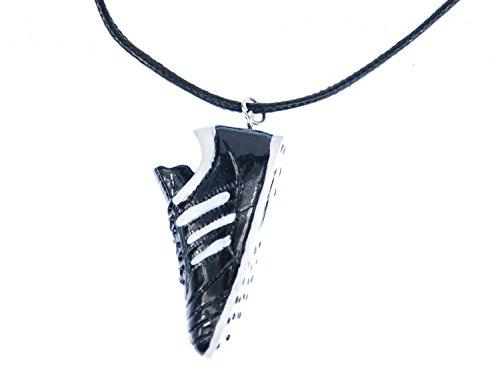 Miniblings Fútbol Collar de Cadena de Zapatos de fútbol Textil Campeonato Mundial...