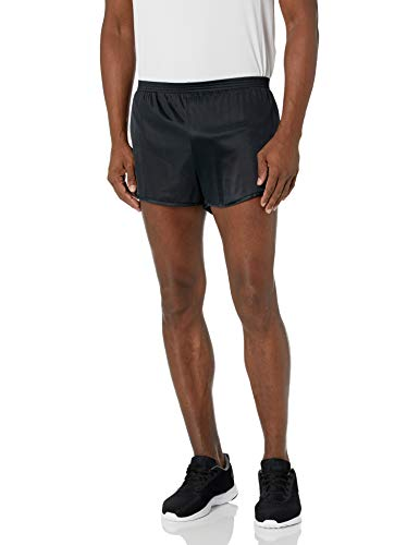 Soffe Men's Ranger Panty Running Short,Black,Large
