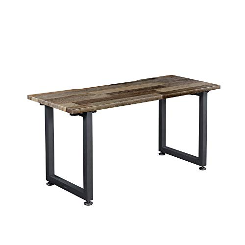 Vari Table (60x24) - Office Desk with Durable Finish & Cable Management Tray - (Reclaimed Wood)