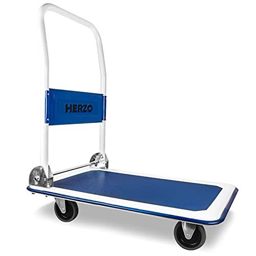 Carretilla de carga 4 ruedas peso máximo 150 kg