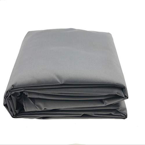 GQY schaduwnet, driehoekig schaduwzeil, polyester doek, schaduwnet, waterdicht schaduwzeil, schaduwratio: 90%. 6.5x6.5x6.5m