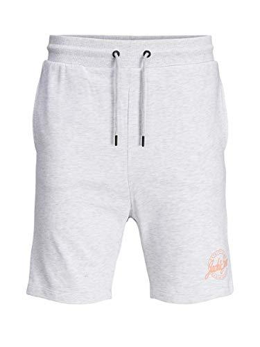 Jack & Jones Men's Shark Sweat Shorts Intelligence Grey in Size X-Large