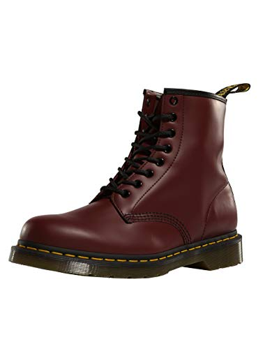 Dr. Martens Air Wair Unisex Stiefel cherry red smooth Größe 39