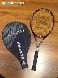 Raqueta tenis graphite dunlop power