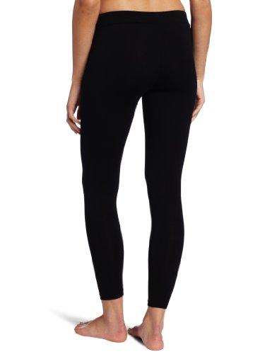 Danskin Women's Essentials Ankle Legging, Black, Medium