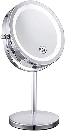 PZFC Makeup Mirror Cheap 10X 7-inch Magnifying Bathroom Manufacturer direct delivery