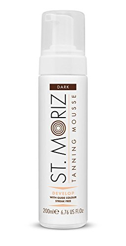 St Moriz Self Tan Range Instant Self Tanning Mousse, Dunkel 200ml
