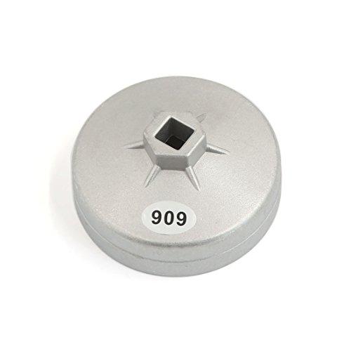 Sourcingmap 909Model 15scanalature 92mm diametro interno tappo stile filtro olio chiave per auto
