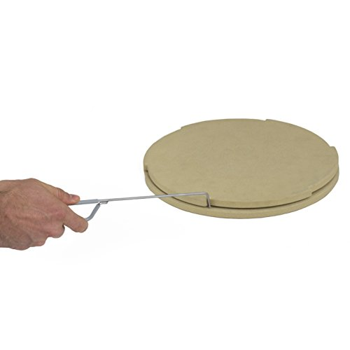 """Pizzacraft PC0119 Thermabond Stone-14 Rotating Pizza Stone, 14"""" in Diameter, 1.22"""" in Height"""