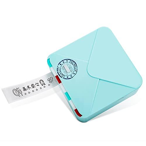 感熱ラベルプリンター Phomemo M02S スマホ対応 ラベルプリンター ラベルライター 感熱ラベルプリンター モバイルプリンター 幅15mm/25mm/53mmラベル対応 ミニラベルプリンター スマホ対応 ラベル用 サーマルプリンター シール Blu