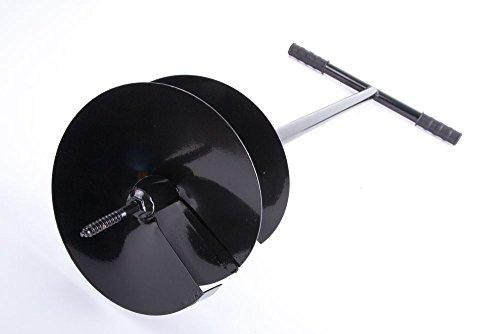 Unbekannt Handbohrer Erdbohrer Handerdbohrer Erdlochbohrer Durchmesser 250mm