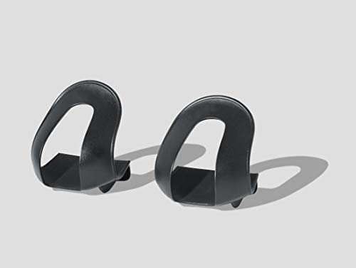 Delta Cycle & Home Cycle Bike Strapless Toe Clips , Black