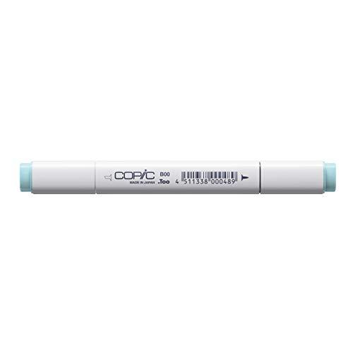 COPIC Classic Marker Typ B - 00, Frost Blue, professioneller Layoutmarker, alkoholbasiert, mit einer breiten und einer feinen Spitze