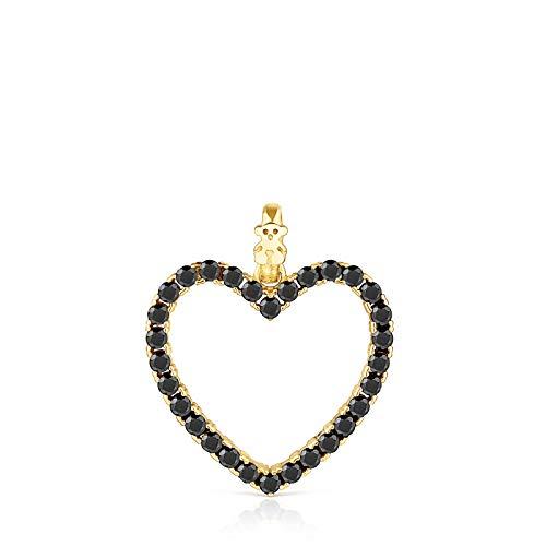 TOUS Colgante San Valentín corazón con espinelas