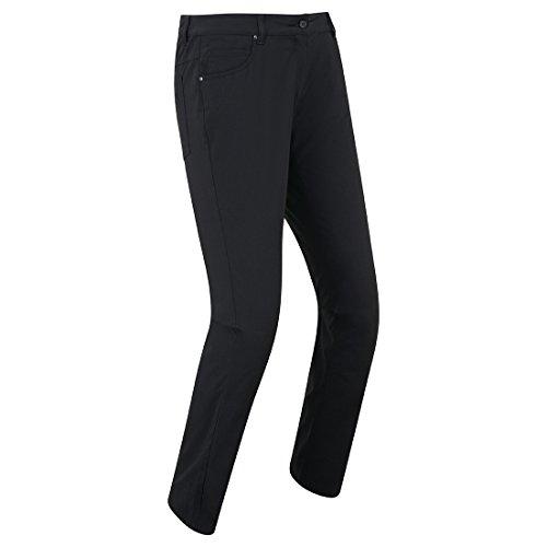 Footjoy 94187M-REG Pantalón Largo de Golf, Mujer, Negro, M-Reg