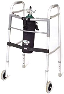 Comfort Solutions Tote Oxygen Tank Carrier Fits M6-Cylinder for Wheeled Walker, 1 Pound