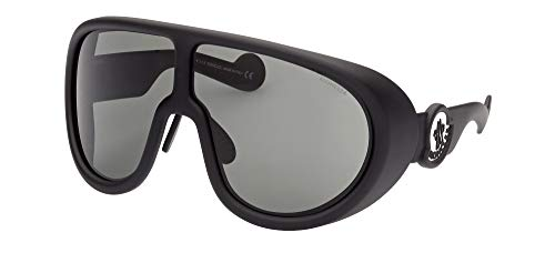 Moncler Gafas de Sol ML0147 Matte Black/Dark Grey 73/5/115 unisex