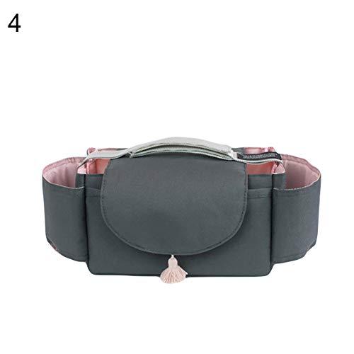 Daorier Poussette Buggy Bag Noir Baby Sac /à Langer Poussette Buggy Universel Avec Porte-gobelet Porte-gobelet,1 Pcs